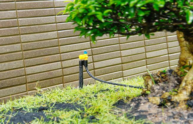 Có thể dùng đầu tưới phun mưa Fan 180 Vari Rotor để tưới cỏ